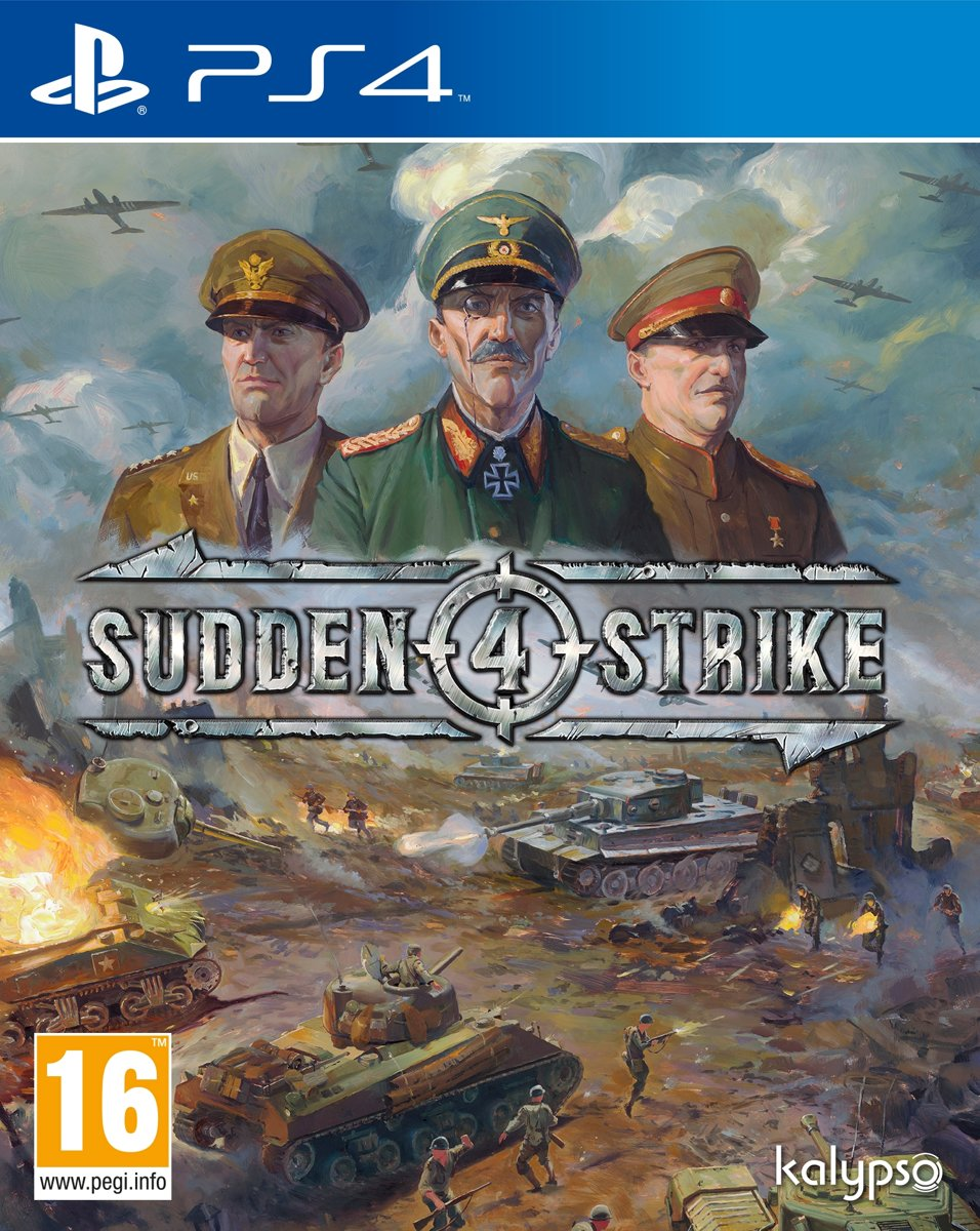 Sudden Strike 4 PlayStation 4