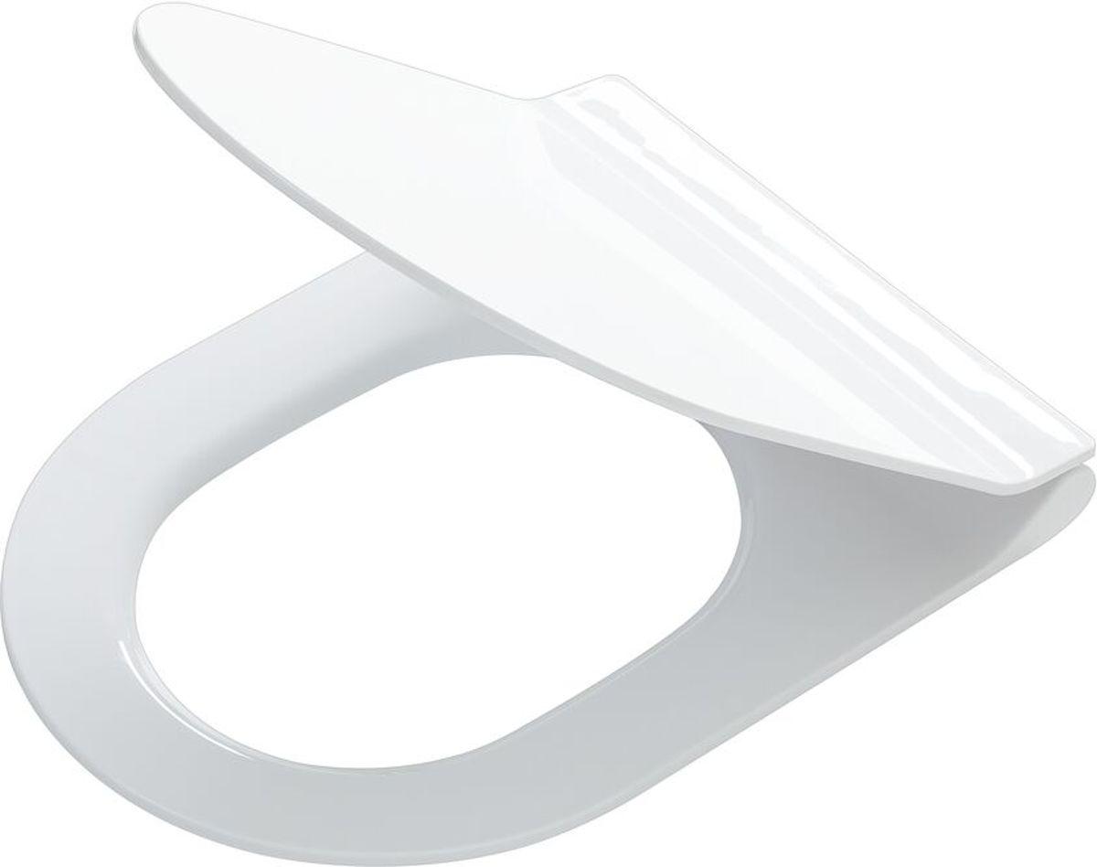 Tiger Veiros wc-bril met D-vorm - Softclose - Thermoplast - Afklikbaar - Wit kopen