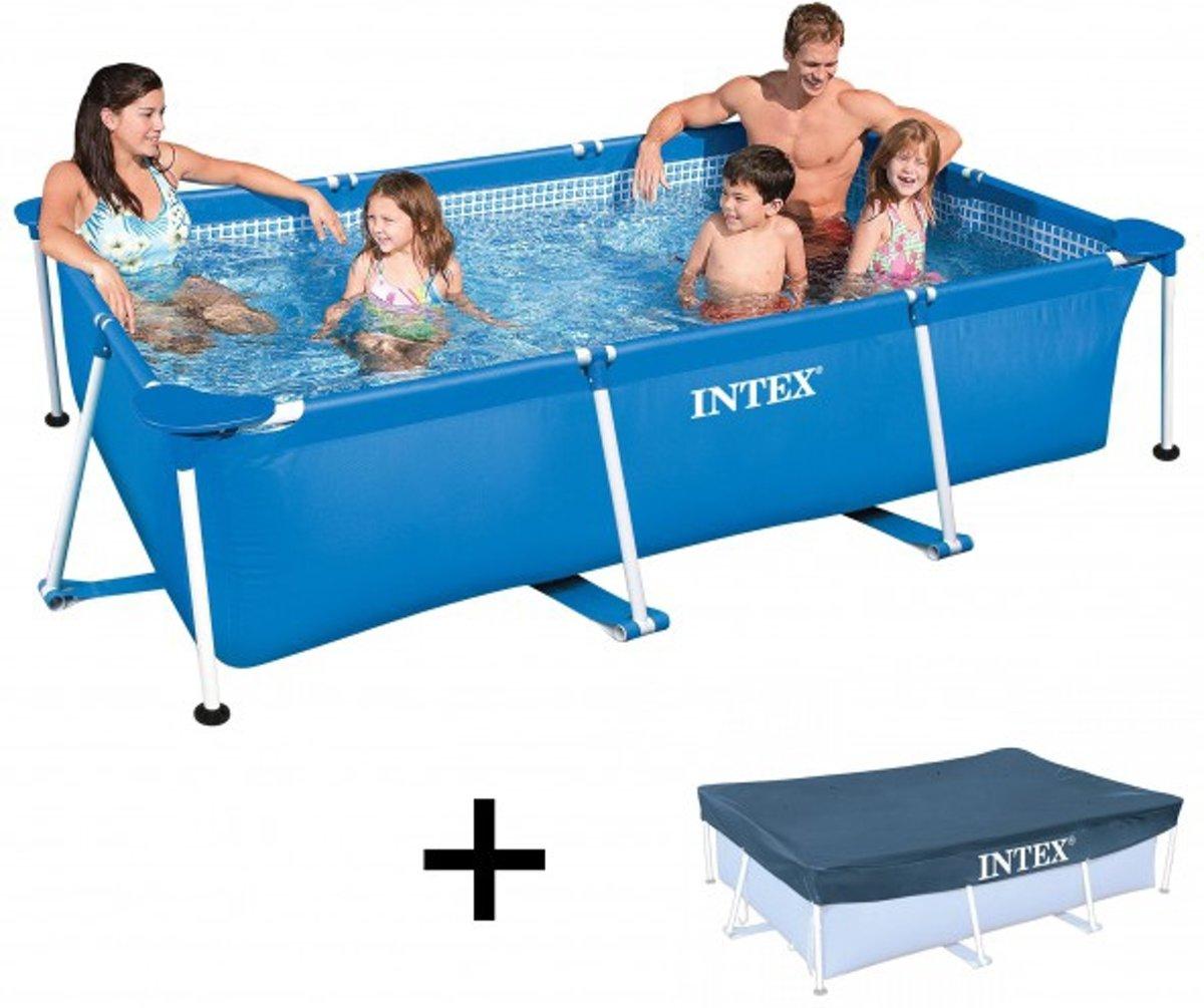 Zwembad Intex Metal Frame Pool 300x200x75 cm + afdekhoes