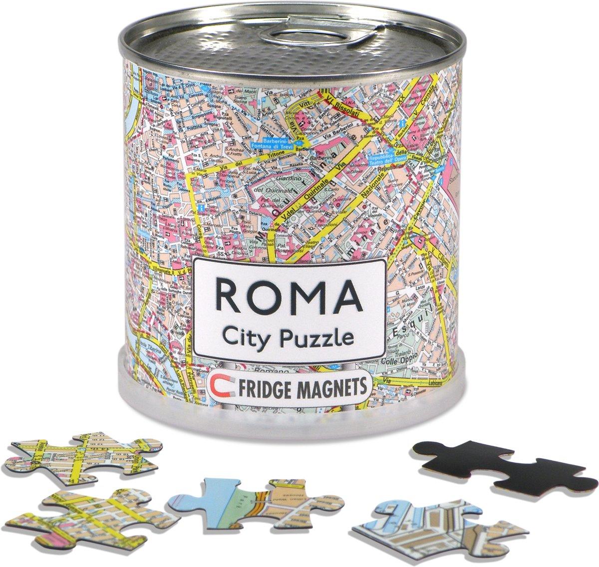 City Puzzle Rome - Puzzel - Magnetisch - 100 puzzelstukjes