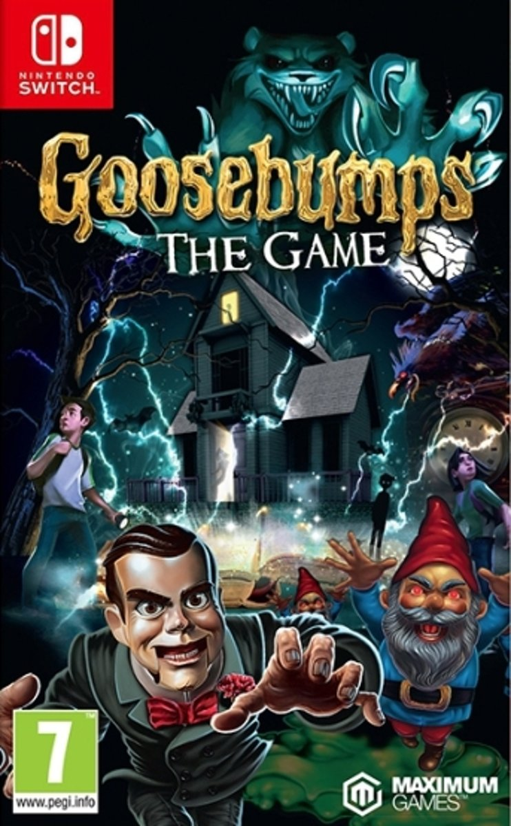 Goosebumps - The Game Switch