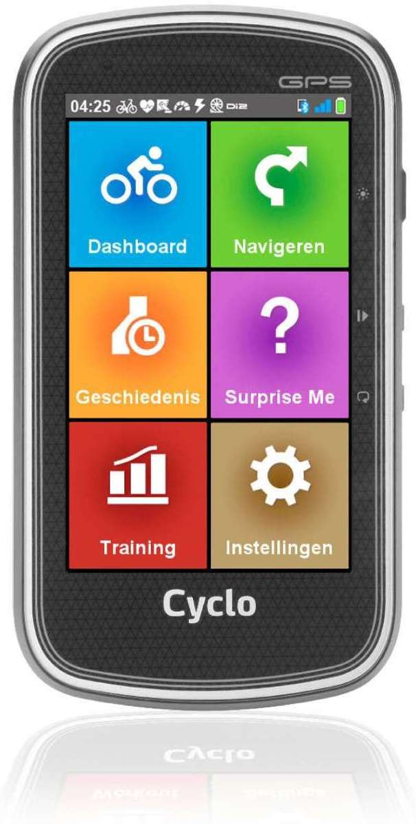 Mio Cyclo 605HC Fietscomputer - Zwart kopen