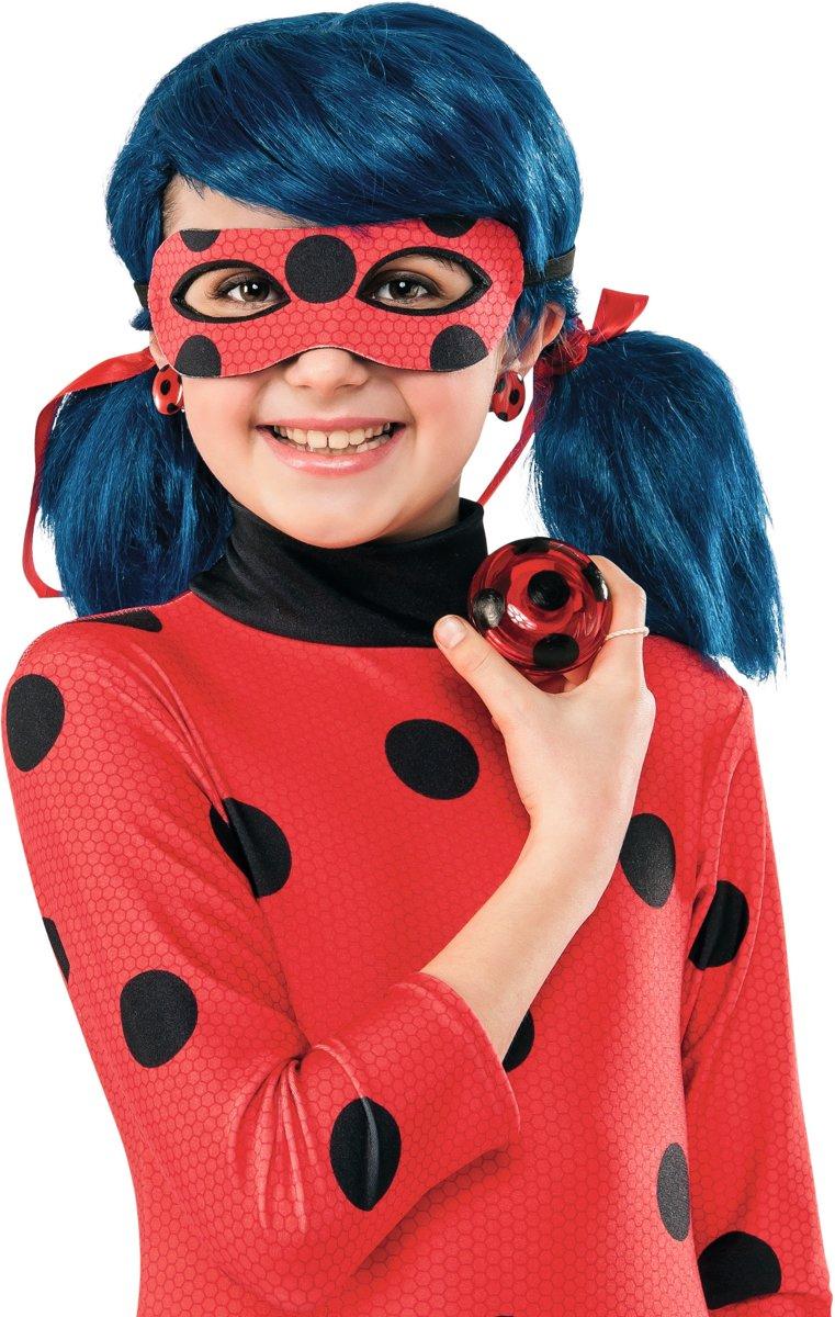 Ladybug™ yoyo en oorbellen voor meisjes - Verkleedattribuut