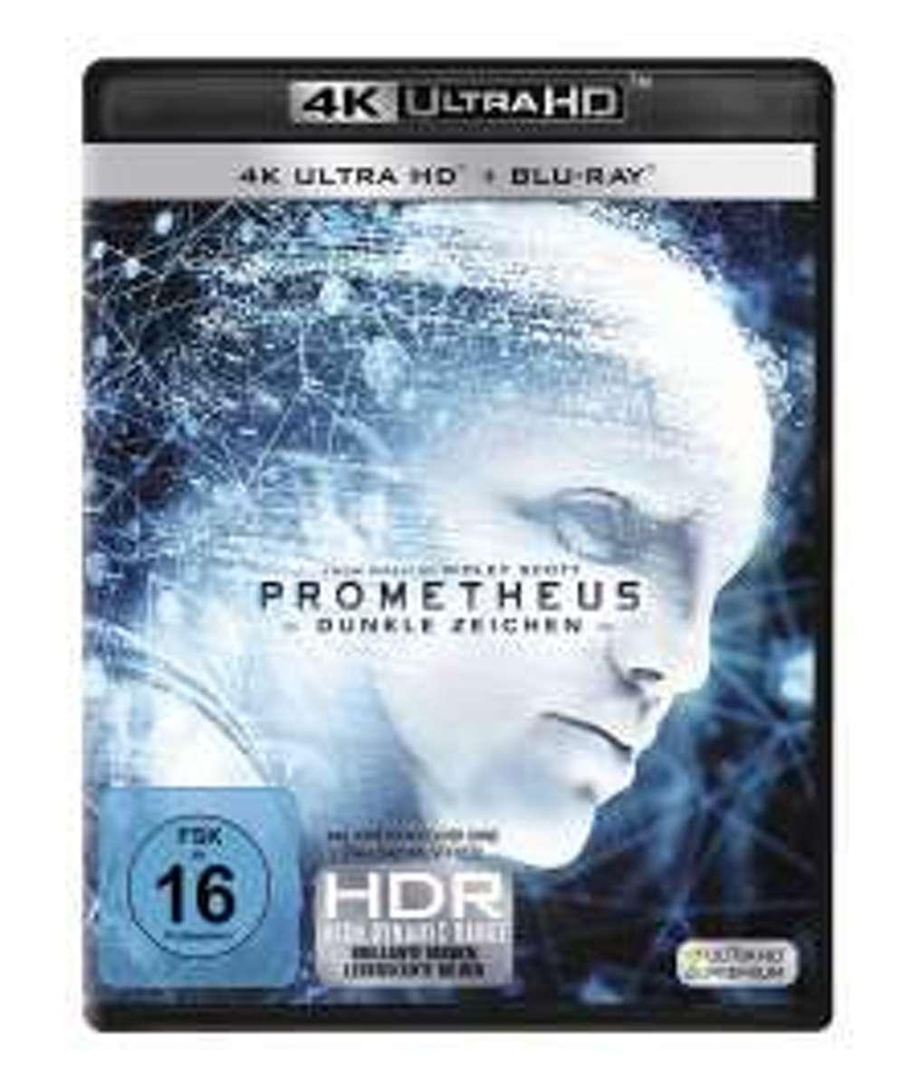 Prometheus - Dunkle Zeichen (Ultra HD Blu-ray & Blu-ray)-