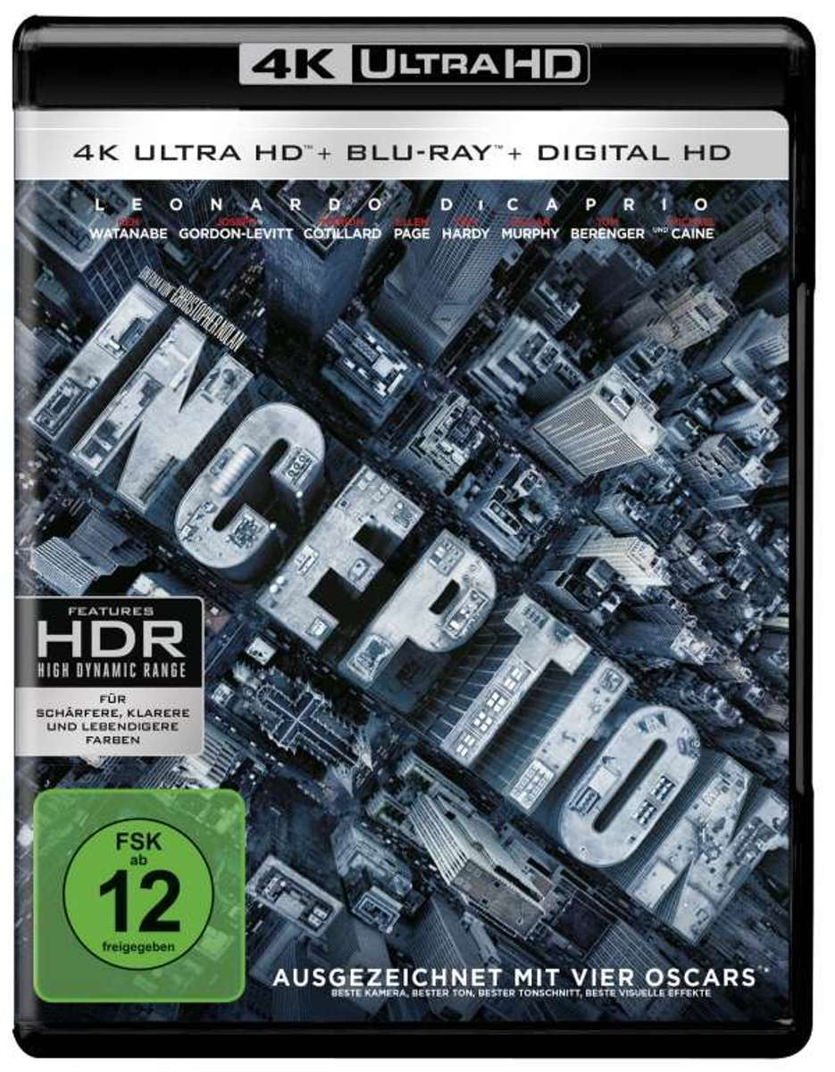 Inception (Ultra HD Blu-ray & Blu-ray)-