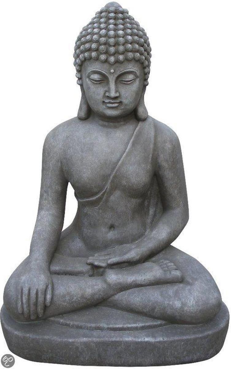 Stone-Lite Deco Tuinbeeld Boeddha 401L