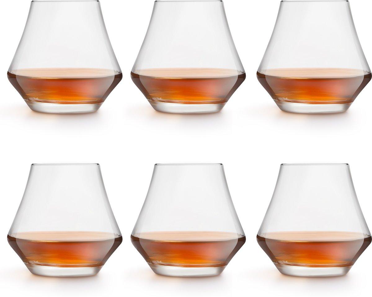 Libbey Whiskyglas – Gles – 29 cl / 290 ml - 6 stuks - hoge kwaliteit - luxe design - vaatwasserbestendig kopen