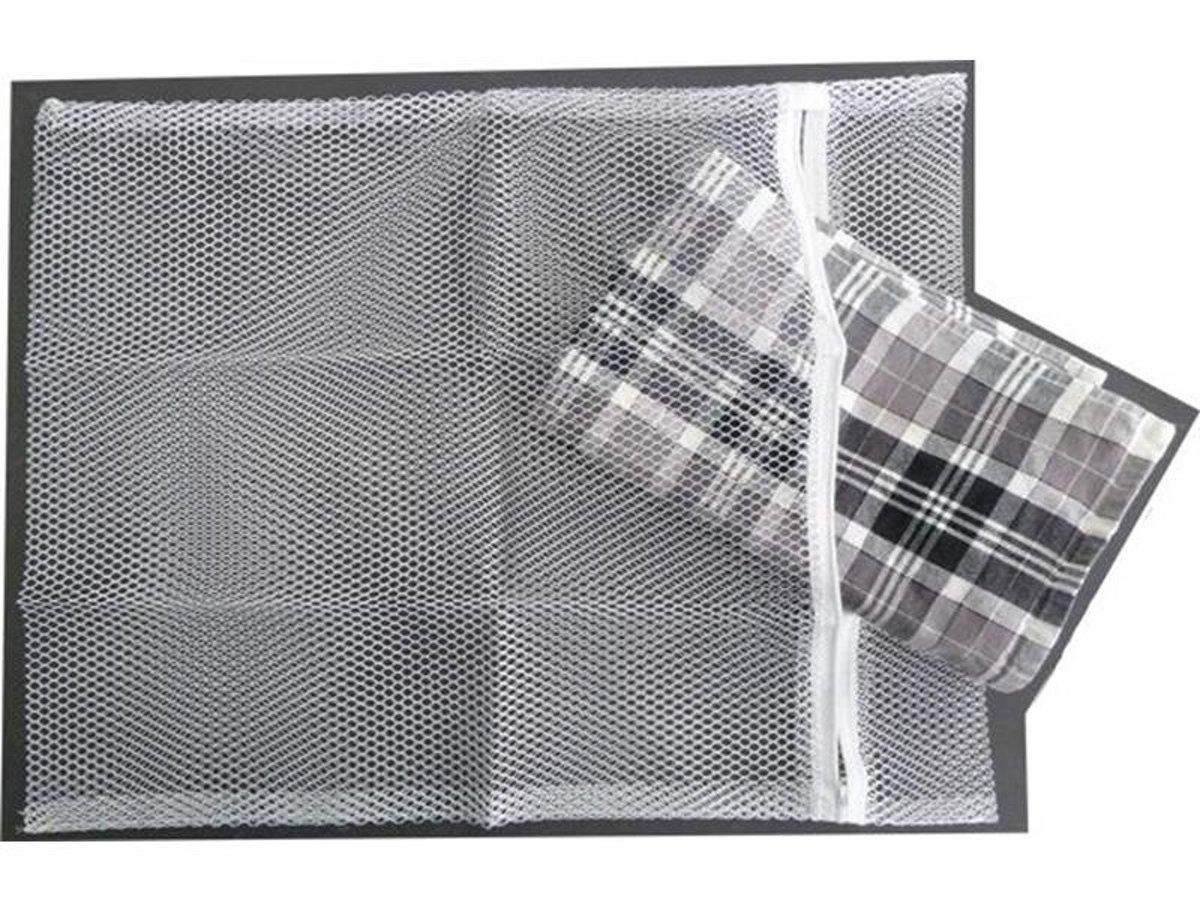 Emsa Wasnet - Wit - met Rits - 40 x 50 cm - 4 stuks kopen