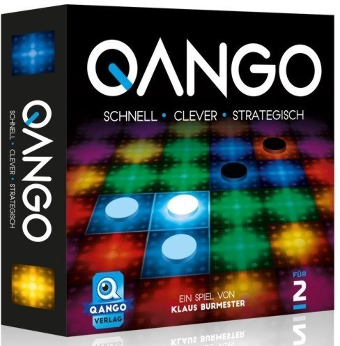 Qango, strategisch bordspel 2 spelers