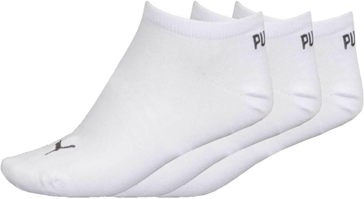 0a4821f3c1d bol.com | Puma Invisible 3-pack - Sportsokken - Unisex - Maat 35-38 - Wit