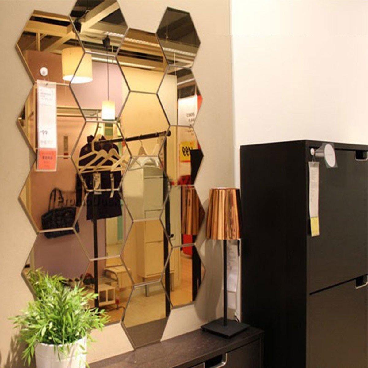 WallArt Stilistische Gespiegelde Wanddecoratie kopen