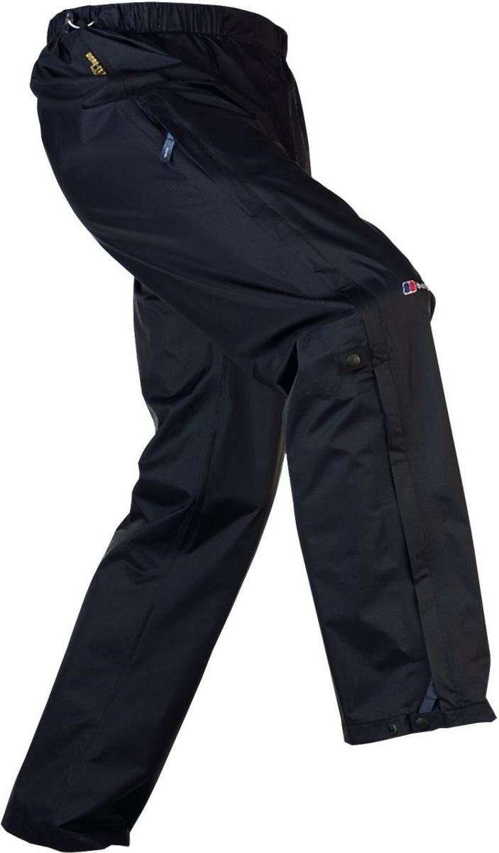 Berghaus Men's Gore-Tex Paclite Shell Overtrousers long black - Maat S-lang kopen