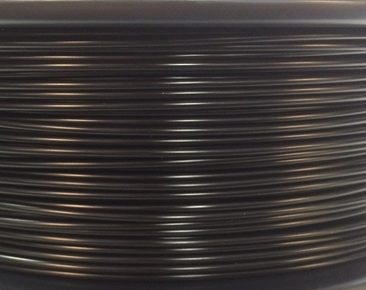 Bits2Atoms PLA filament black 1,75mm 750gram