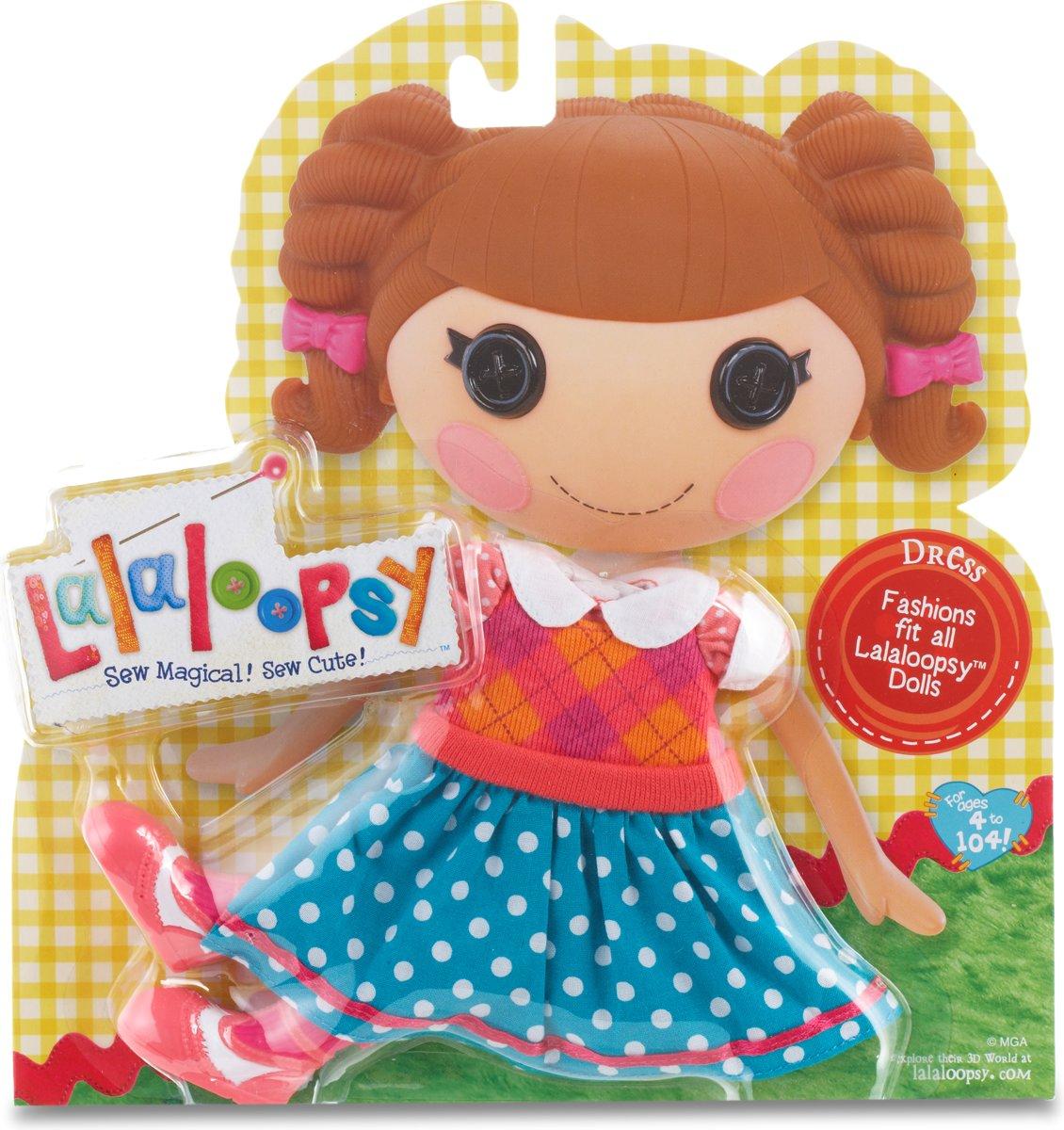 Kleding Lalaloopsy: poppenkleding jurkje met laarsjes