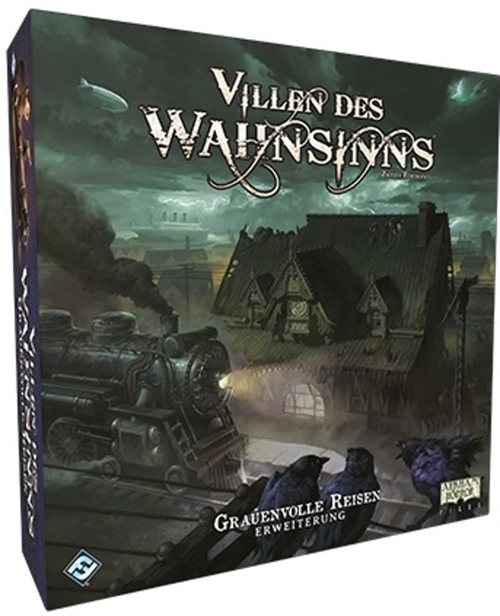 Mansions of Madness 2nd Horrific Journeys - Engelstalig Bordspel