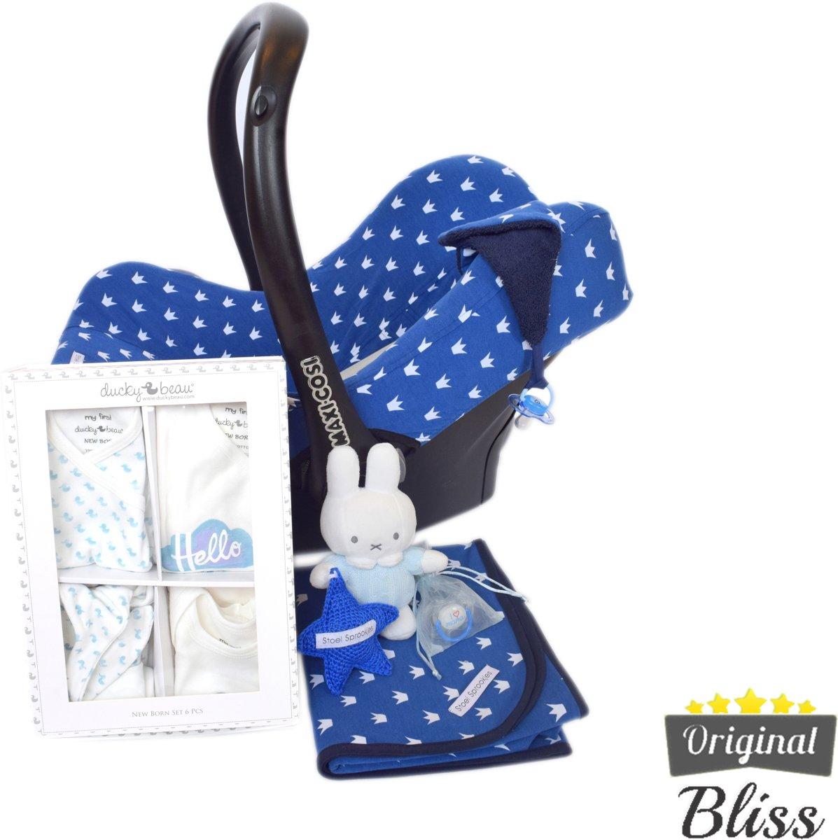 Kraamcadeau pakket- Babybox - Babydoos -Kraambox - Kraamdoos - Jongen