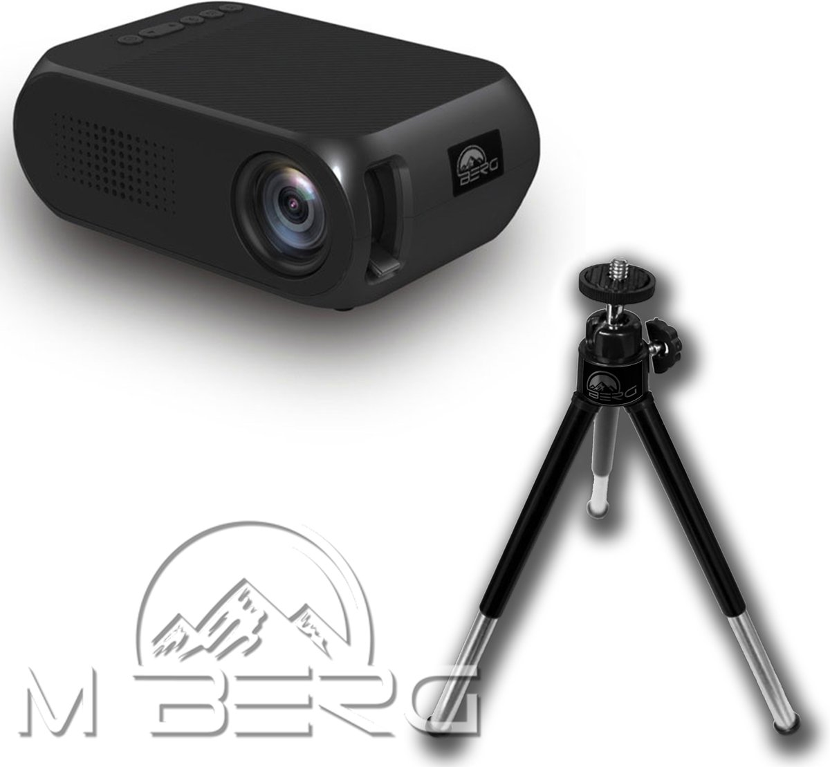 Mini Beamer-Projector (inclusief statief) kopen