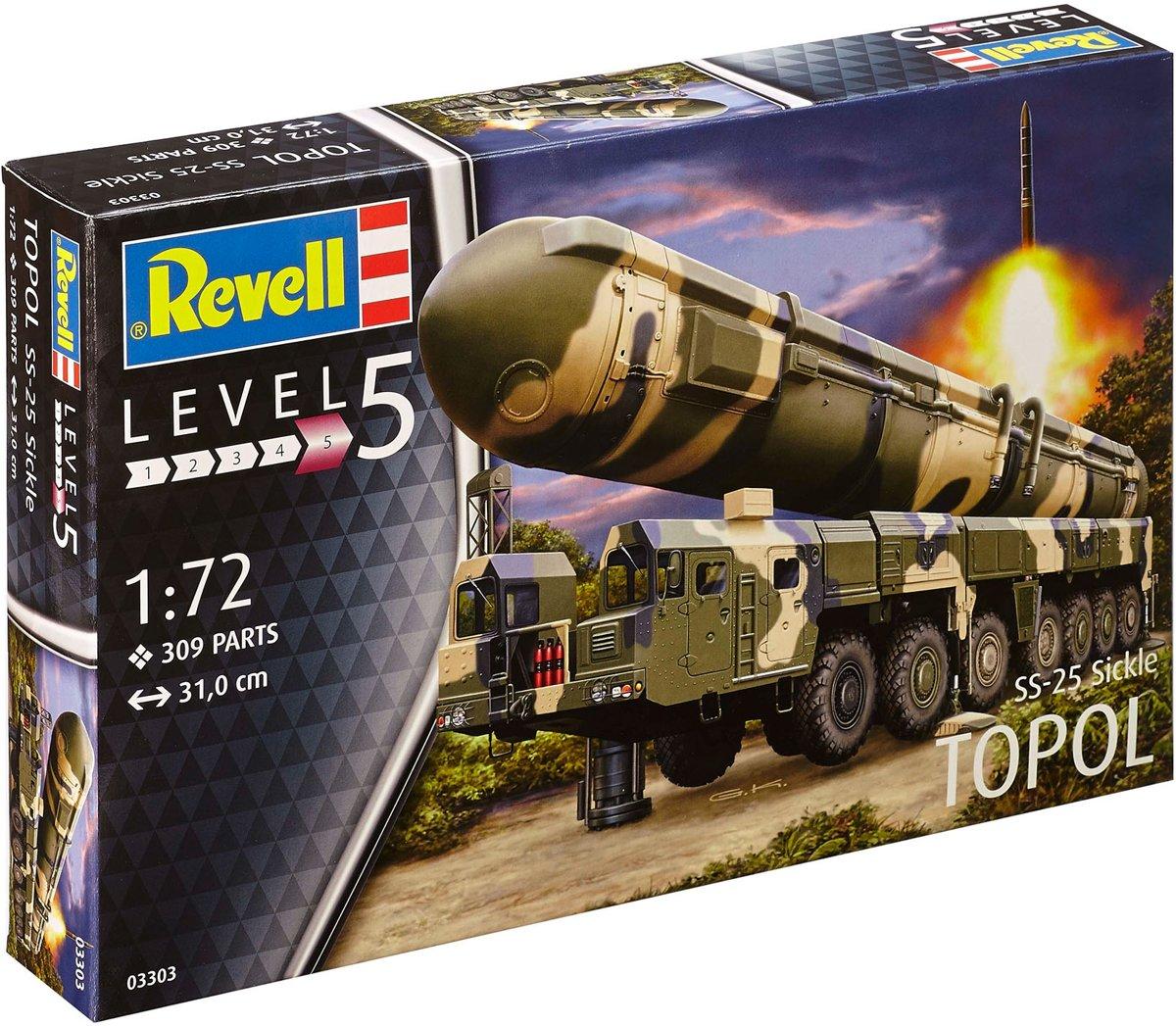 Revell modelbouwpakket TOPOL SS-25 Sickle