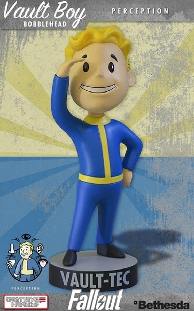 Fallout 4 Vault Boy Bobble Head Series 1 Perception