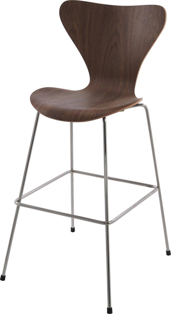 lounge stoel butterfly series 76cm Walnoot kopen