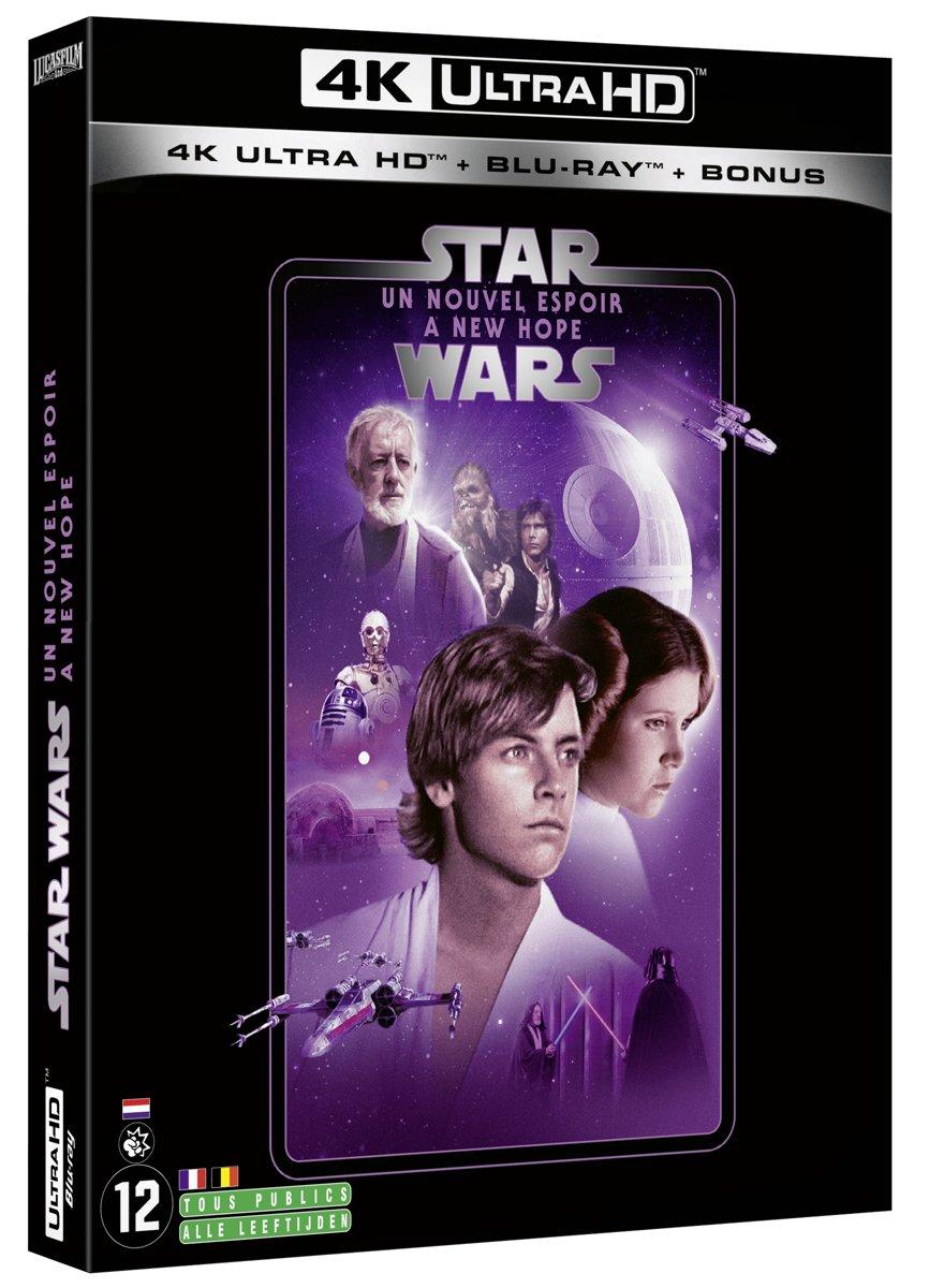 Star Wars Episode IV: A New Hope (4K Ultra HD Blu-ray) (Import zonder NL)-