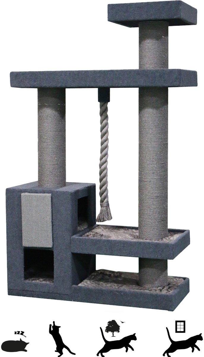 Petrebels Krabpaal The Rebels - Norwegian 200 - basalt grey - 200cm - 76,50 kg