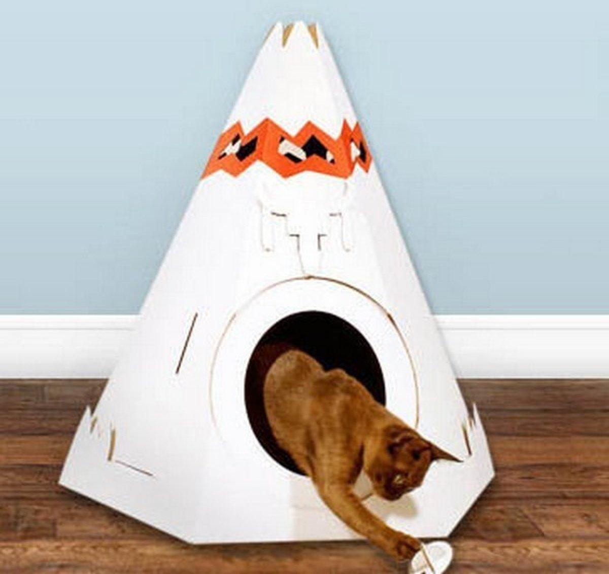 Teepee Cat Play House