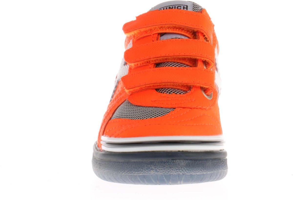 Munich G De Chaussures De Sport De 3 Vco-enfant Sneakers Junior - Taille 29 - Unisexe - Orange / Blanc ZWW3ql