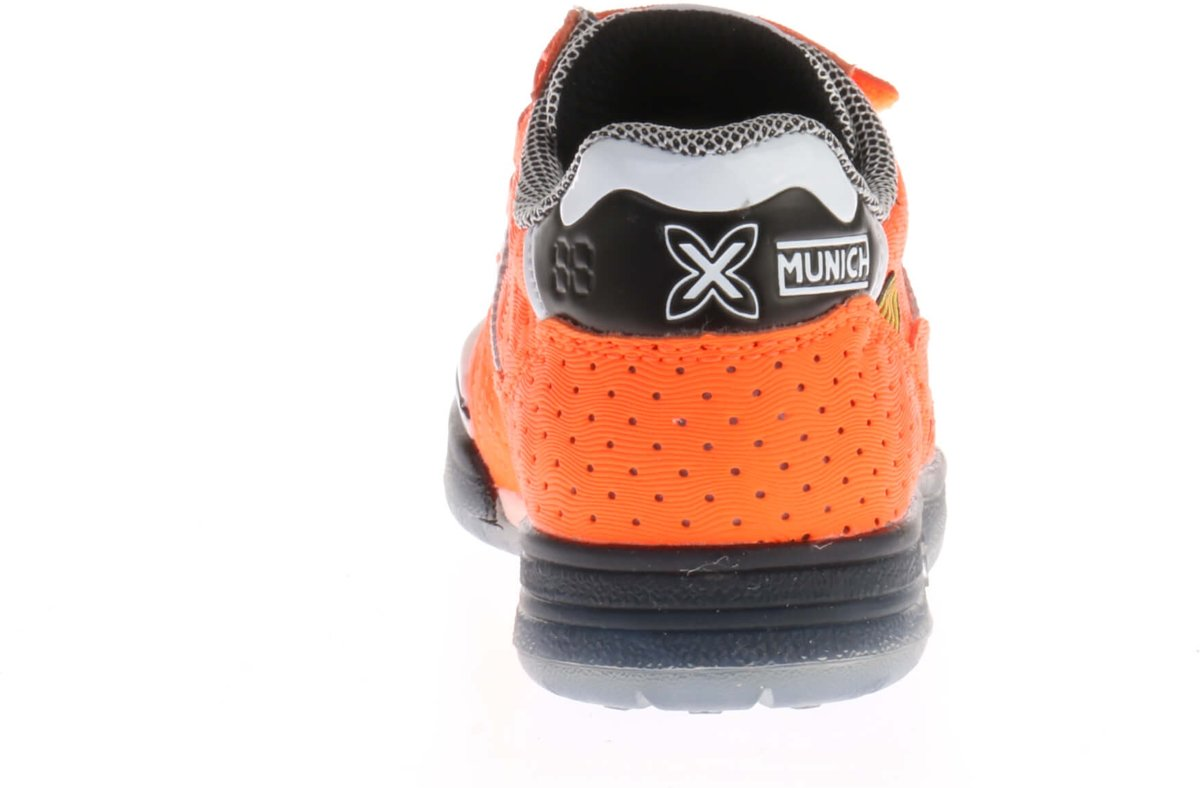 Munich G De Chaussures De Sport De 3 Vco-enfant Sneakers Junior - Taille 29 - Unisexe - Orange / Blanc J1wi6NLO