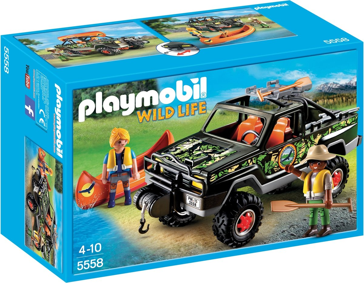 Playmobil 5558 Pickup 4x4