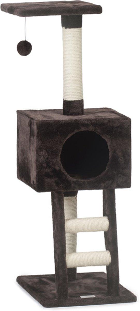 Beeztees Homira - Krabpaal - Bruin - 40x35x110 cm