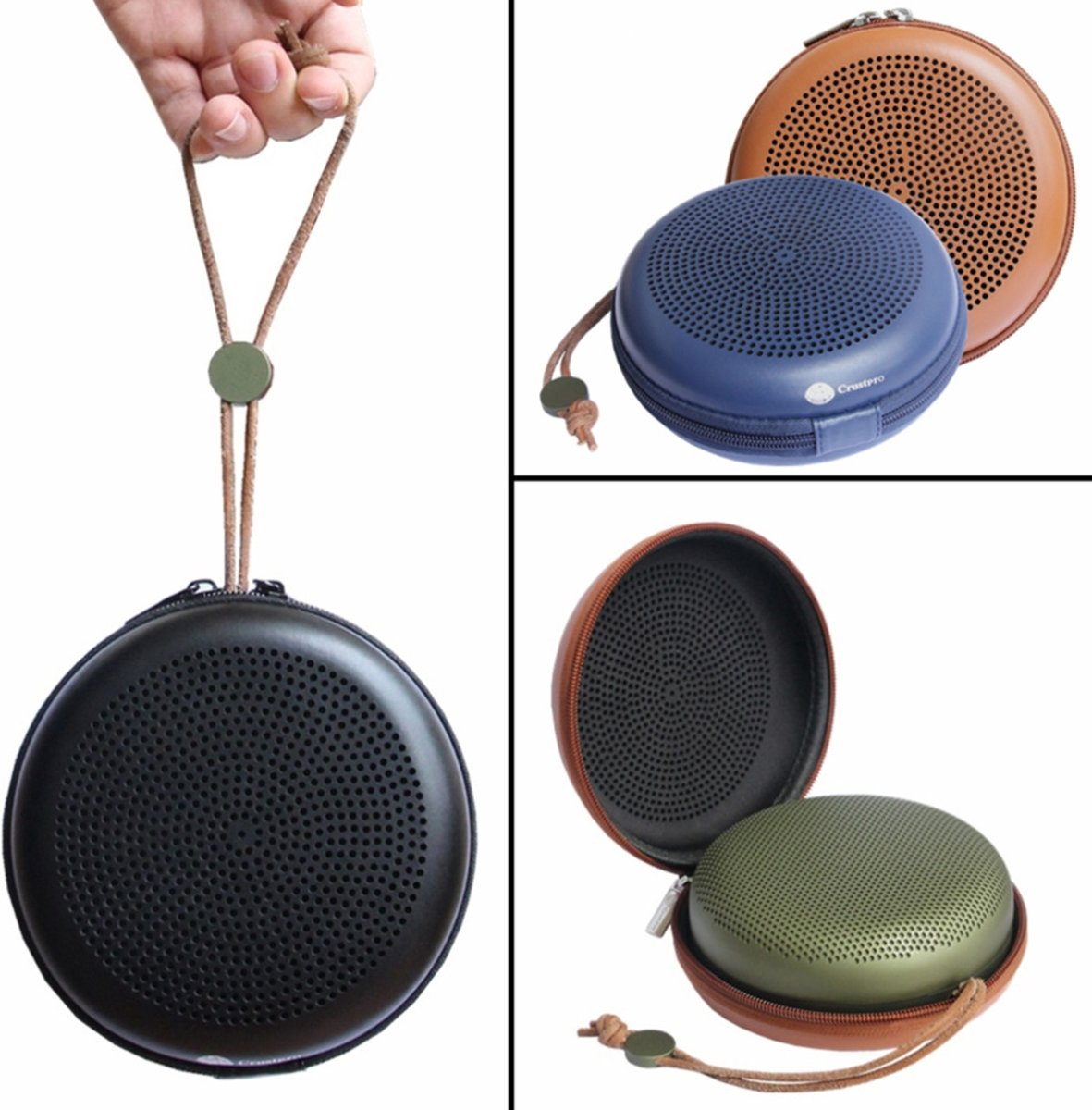 Hard Cover Beschermhoes Voor B&O Bang And Olufsen Beoplay A1 - Opberghoes Travel Case Hoes Opbergtas kopen