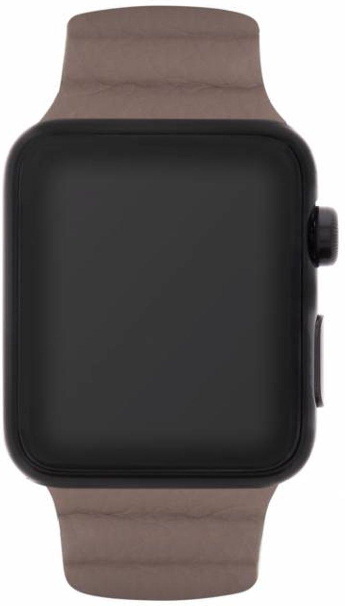 Bruin Loop design watch band voor de Apple Watch 44 mm / 42 mm kopen