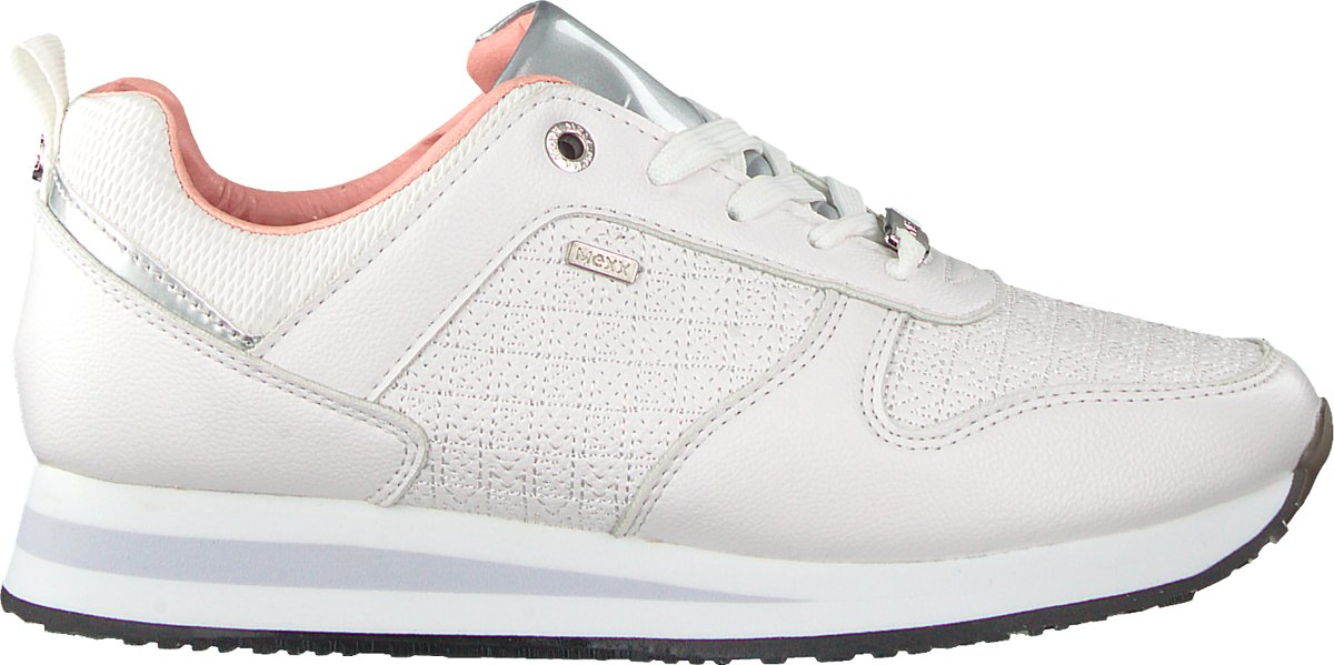 70de9191f36be3 bol.com | MEXX Dames Sneakers Cataleya - Wit - Maat 38