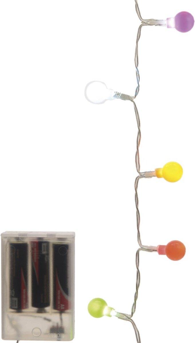 Batterijverlichting bal multicolor 20 LED s kopen