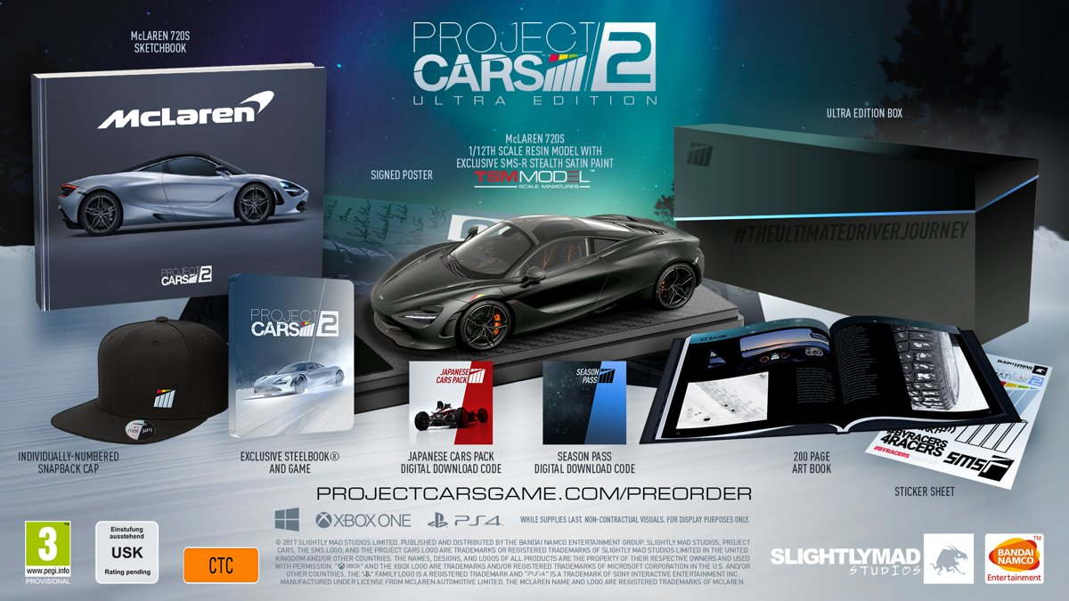 Project Cars 2 Ultra Edition PlayStation 4