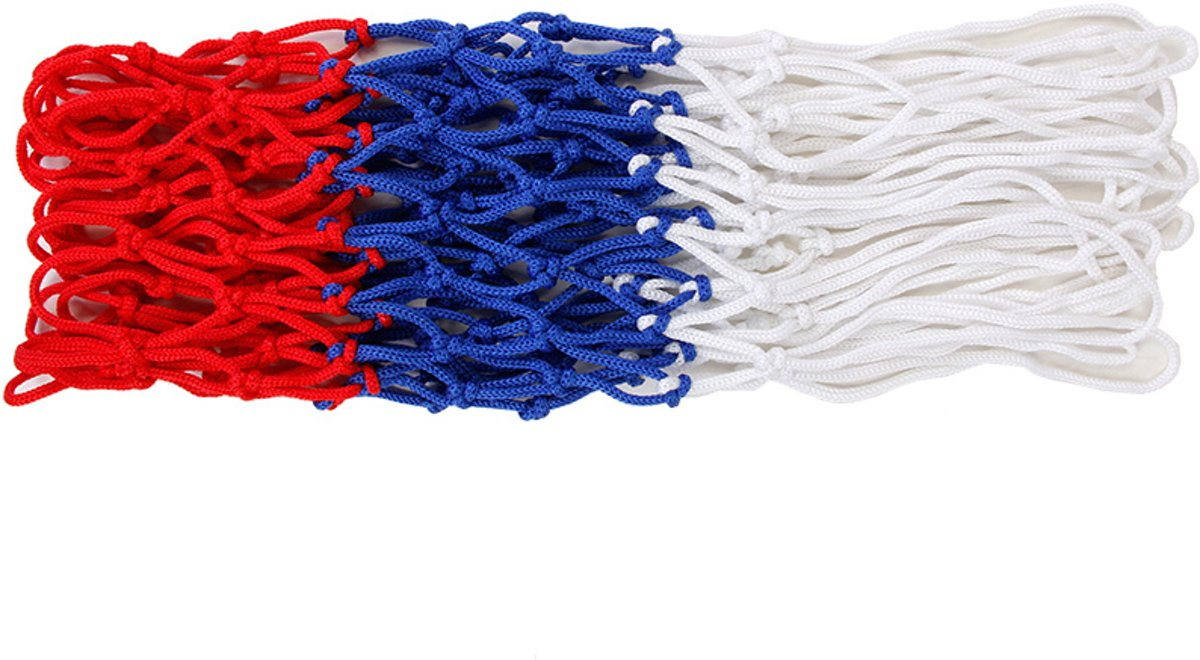 Sportec Basketbal Net 3080 Rood / Wit / Blauw kopen