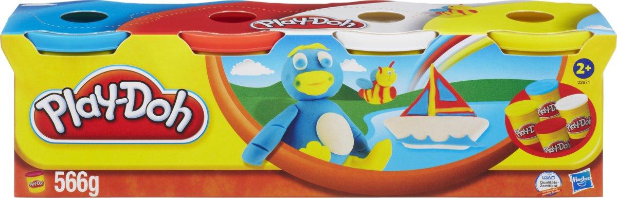 Play-Doh 4 kleuren - 566 gram - Klei