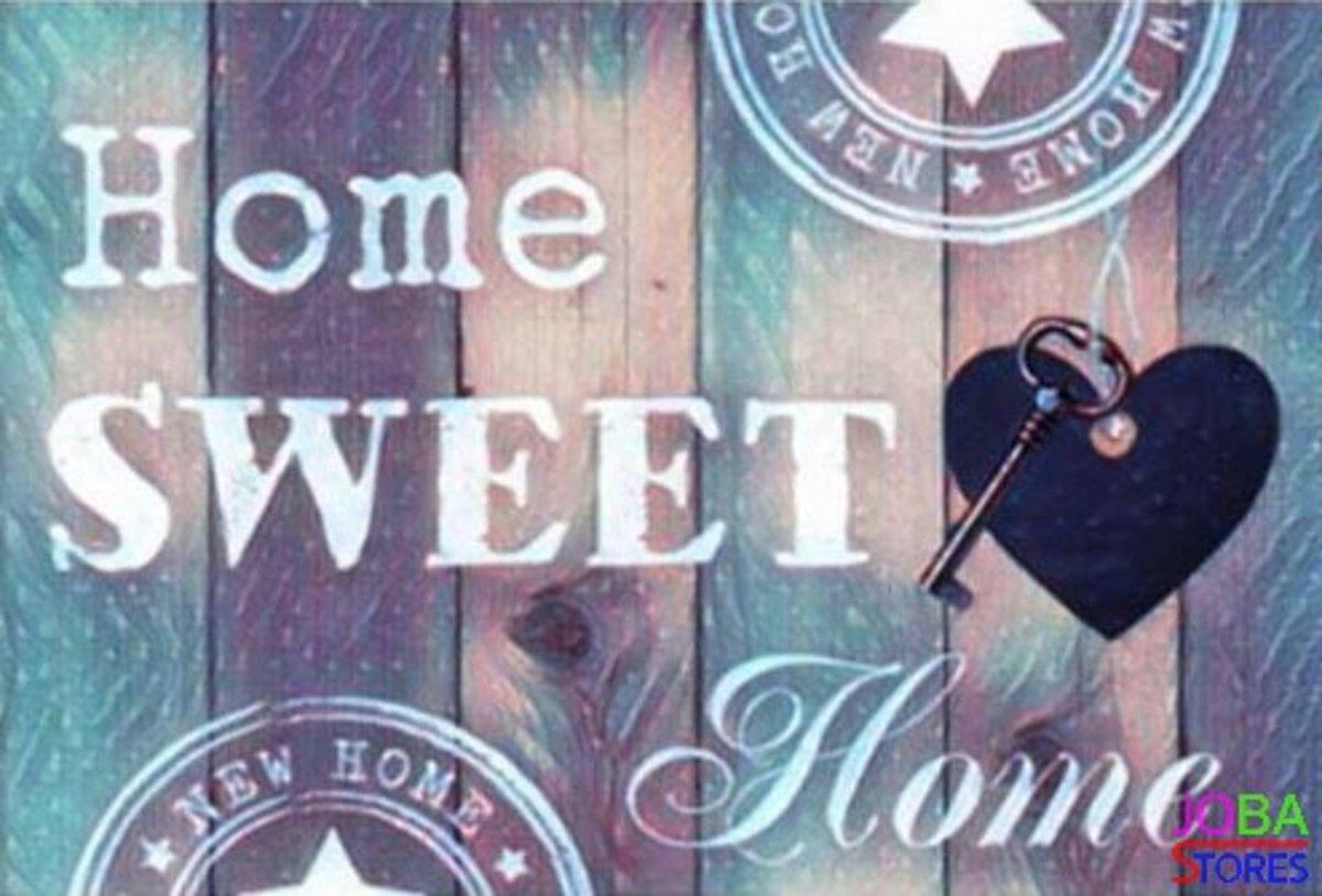 Diamond Painting JobaStores® Home Sweet Home 02 - volledig - 30x40cm