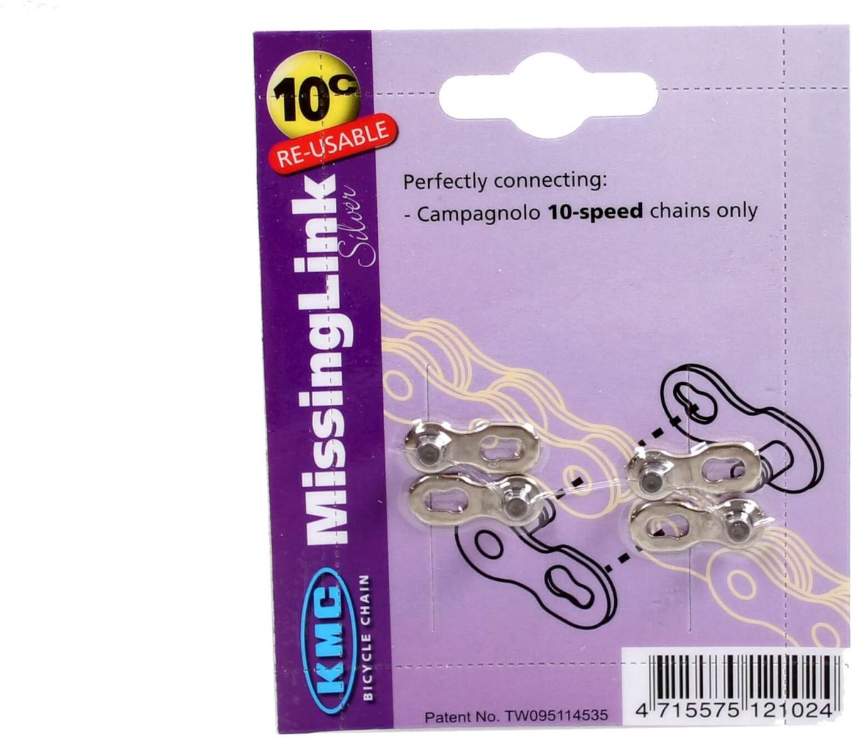 KMC Missinglink - Kettingschakel - 10-Speed - Campagnolo - (2 stuks) kopen