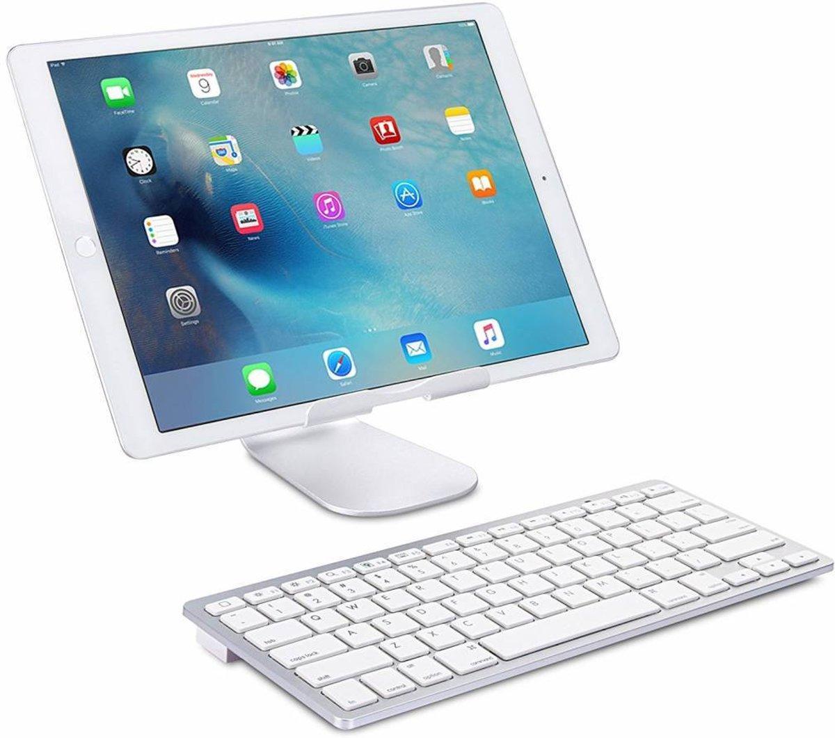 iPad 2017 draadloos bluetooth toetsenbord wit kopen