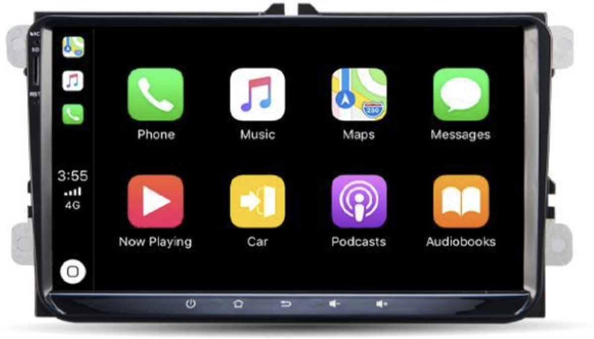 Volkswagen Carplay Android Radio/Navigatie 9 inch iPhone en android auto met bluetooth kopen