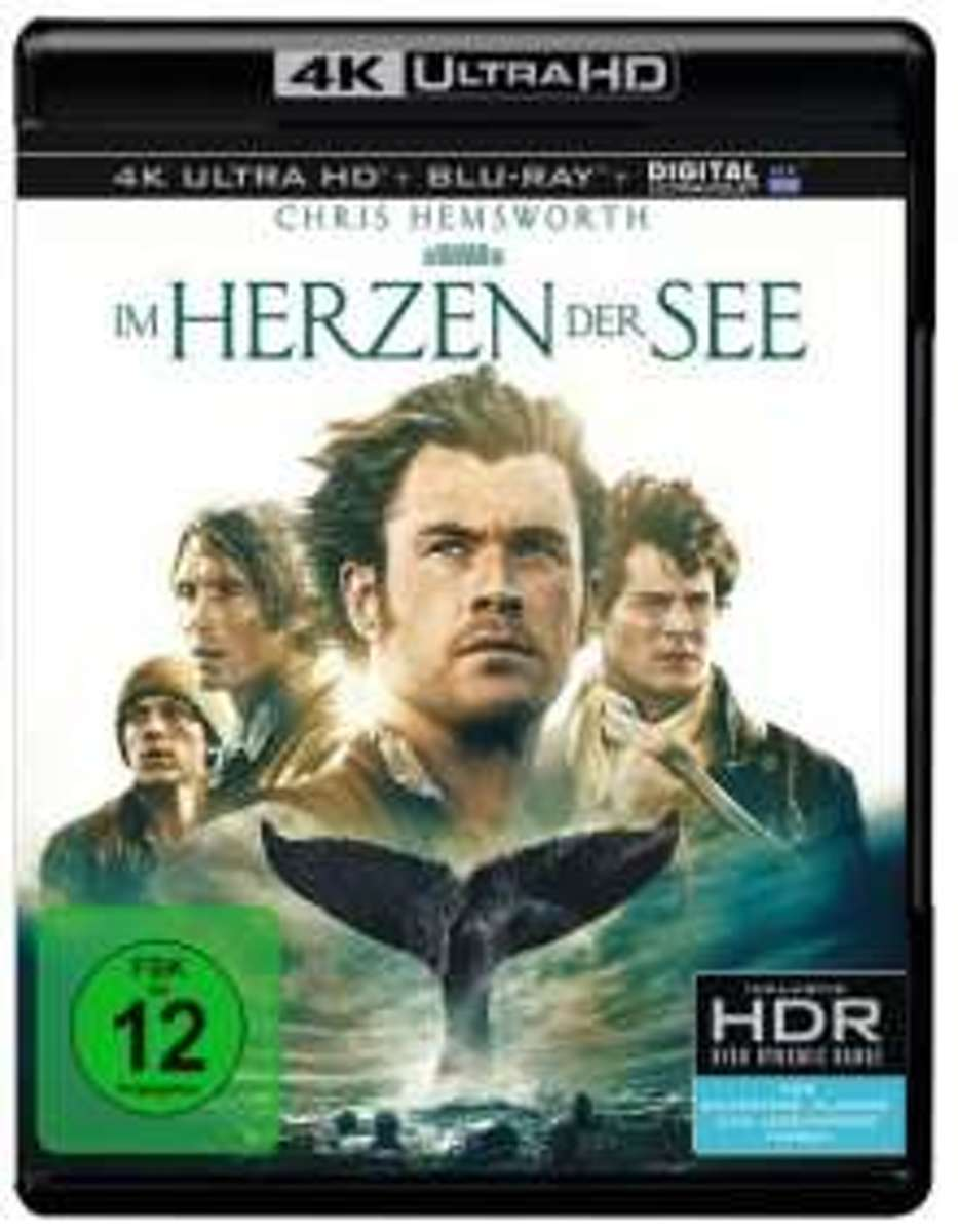 In the Heart of the Sea (2015) (4K Ultra HD Blu-ray)-