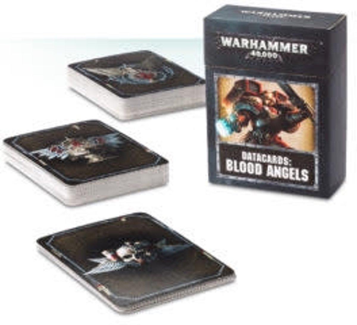 Warhammer 40,000 8th Edition Datacards Imperium: Adeptus Astartes Blood Angels