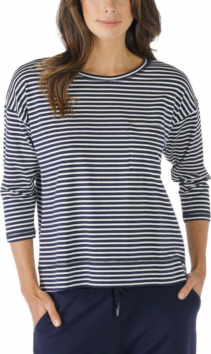 Mey Dames Night2Day Liv Shirt ¾ Mouw 16819 - Huidskleur - L kopen