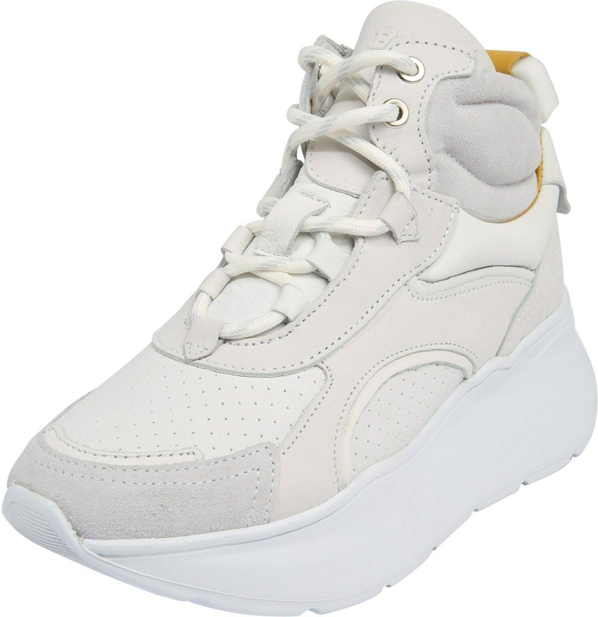 Bronx sneakers hoog grayson Wit 36