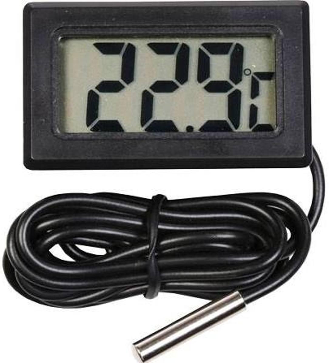 Vijver/zwembad Digitale thermometer + meetsonde -5ºC - +70ºC