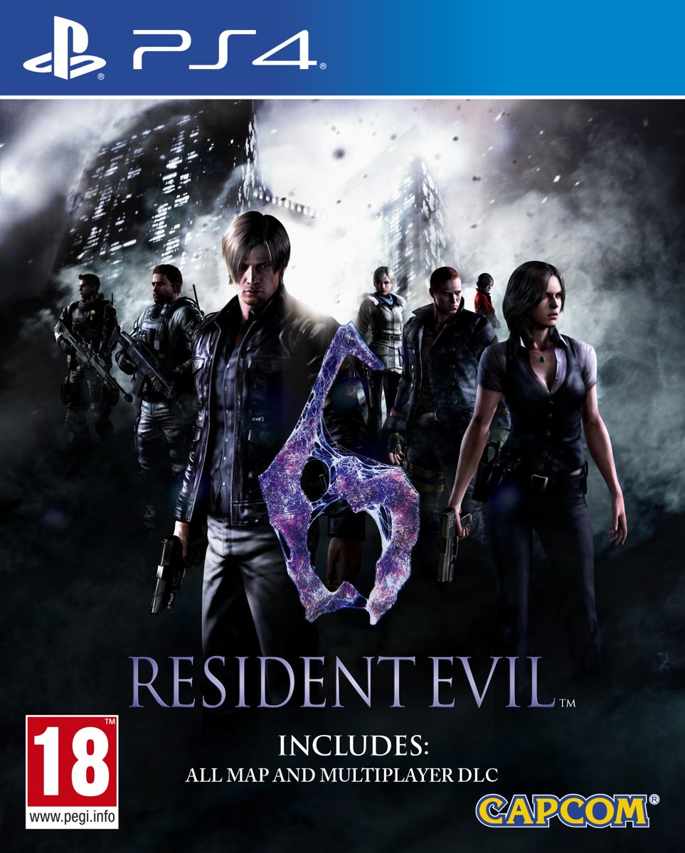 Resident Evil 6 Remastered PlayStation 4