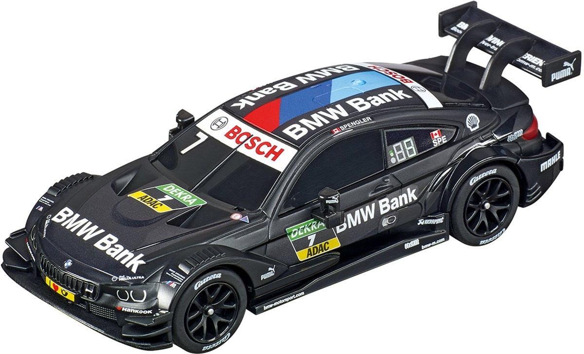 Carrera GO! racebaanauto BMW M4 DTM 1:43 zwart