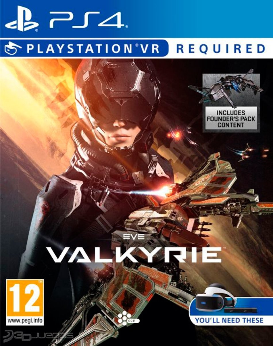 EVE Valkyrie VR PlayStation 4